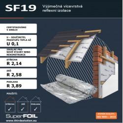SF19 - 299,20 Kč/m² bez DPH...